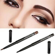 2015 New Design Waterproof Rotary Gel Cream Eye Liner Black Brown Eyeliner Pen Makeup Cosmetic Tool  6UWW(China (Mainland))