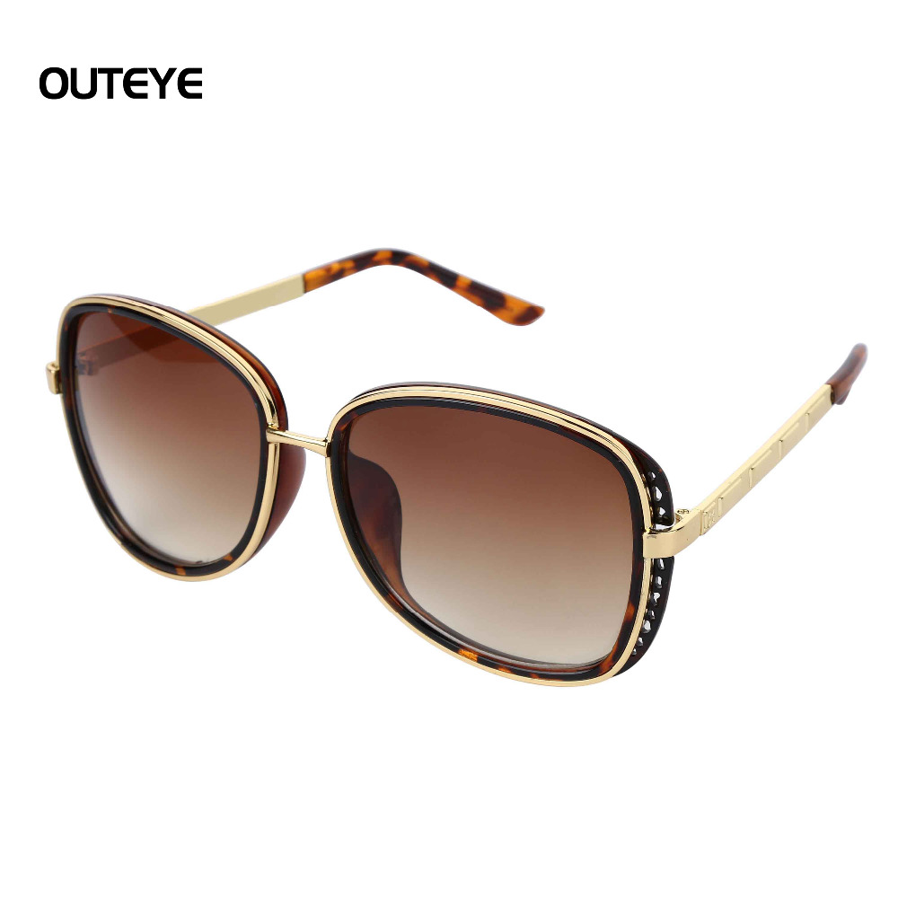 Big Frame Sunglasses : OUTEYE 2016 Fashion Big Frame Men Sunglasses Men Brand ...