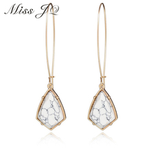 Buy 2017 Fashion Popular Retro Jewelry Accessories Irregular Geometric Natural Stone Dangle Earrings Pendant Long Earrings Women for $2.39 in AliExpress store