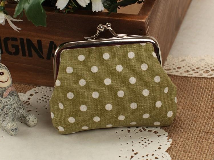 Портмоне! Женщины дизайн одежды точек нулевой бумажник, женщины кошелек, мини-кошелек, Засов монеты/ключевой мешок, Свадебные подарки: конфеты мешок, мешок