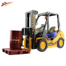 Buy RC Forlift Truck 6CH Remote Control Simulation Forklift Truck 4 wheel Truck Engineering Model Electronic Lift Truck Toys for $45.00 in AliExpress store