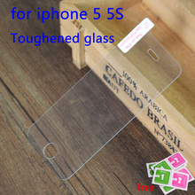 For iphone5 Tempered Glass Screen Protector Film For Apple iphone 5 5S 5C SE Anti Shatter Film For Guard 9H Anti-Scratch