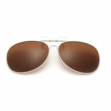Hot Sale High Quality Fashion Unisex Polarized Lenses Myopia Colorful Clip on Sunglasses Clip 9 Colors