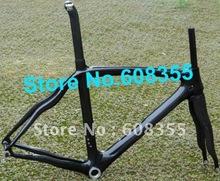Buy FR-308-A Brand New Full Carbon 3K 700C Road Frame Fork, Seatpost, Clamp, Alloy headset 52cm, 54cm, 56cm for $548.75 in AliExpress store