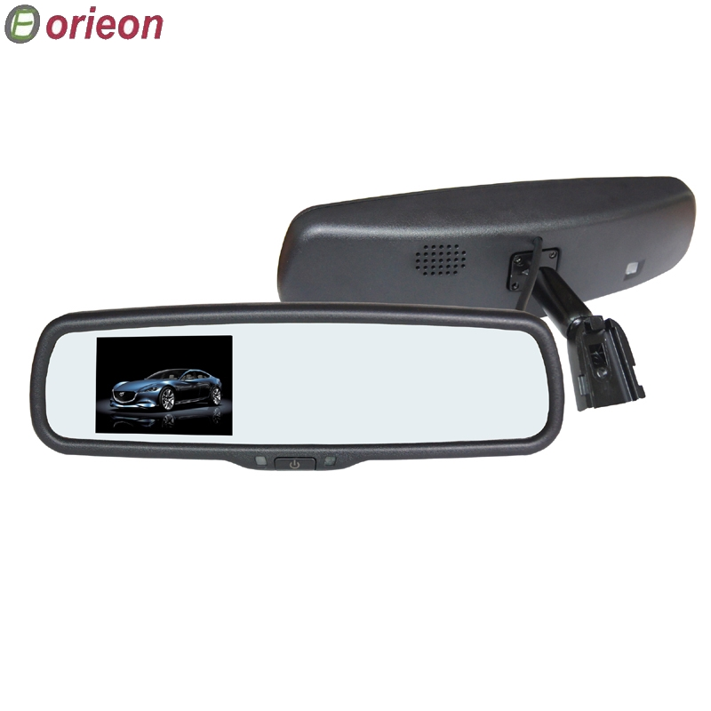 Freeshipping 1pc/lot New 3.5 inch TFT-LCD Screen Special Original Rear View Mirror Car Monitor,12V Auto Monitor (OE352MS) - Orieon Industry Co., Ltd. store