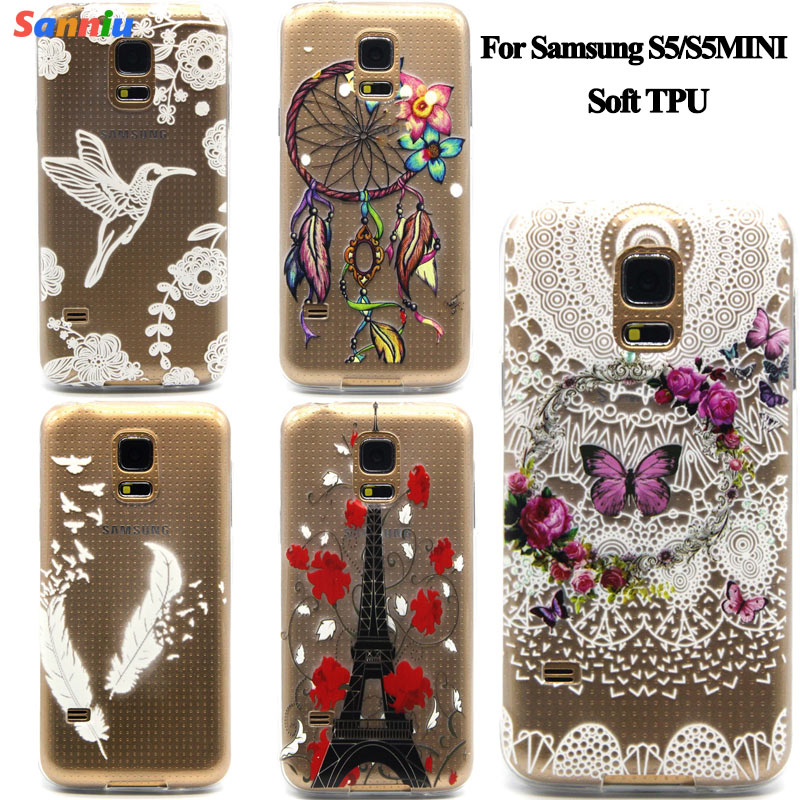 Sanniu For Samsung S5/S5MINI TPU Case Protect Soft Cover coque funda For Samsung S 5 S5 MINI Transparent Silicon Ultra Thin Slim(China (Mainland))