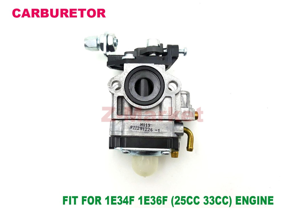 2PCS Carburetor for 25CC/33CC Brush Cutter.Grass Trimmer.Lawn Mower.Tiller.Outboard.Gasoline Engine Garden Tools Spare Parts(China (Mainland))