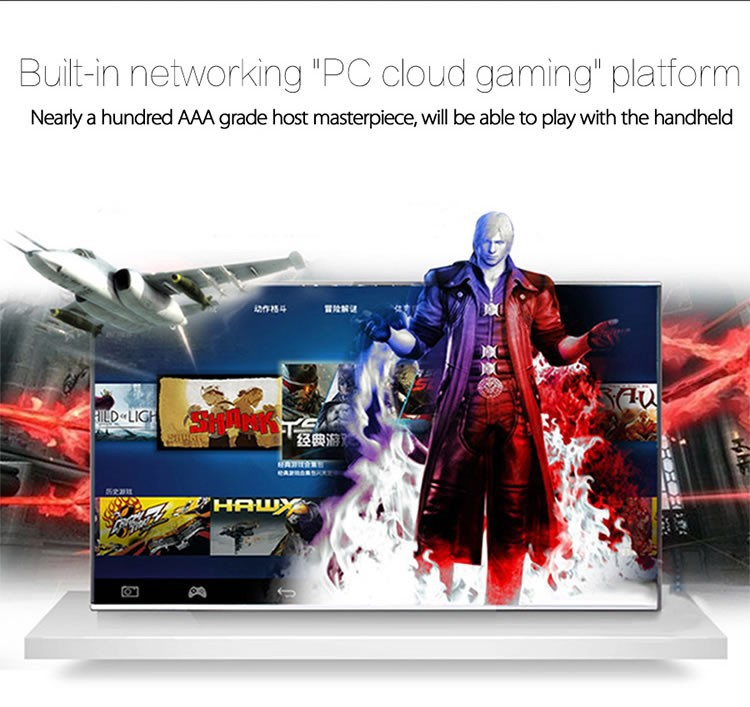 GPD XD 2GB/32GB 5 inches H-IPS Screen Android Handheld Game Player Video Game Console Game player Black