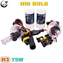 Buy 2PCS/Lot H3 75W 12V Car Styling HID Xenon Bulb Headlight Lamp Replacement Auto Motorcycle Light Source 4300K 5000K 6000K 8000K for $13.92 in AliExpress store
