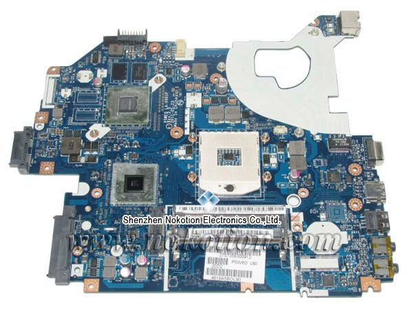 Laptop Motherboard for Acer 5750 5750G NV57 HM65 Nvidia GT520M Graphics DDR3 MB.RFF02.004 MBRFF02004 P5WE0 LA-6901 Mainboard<br><br>Aliexpress