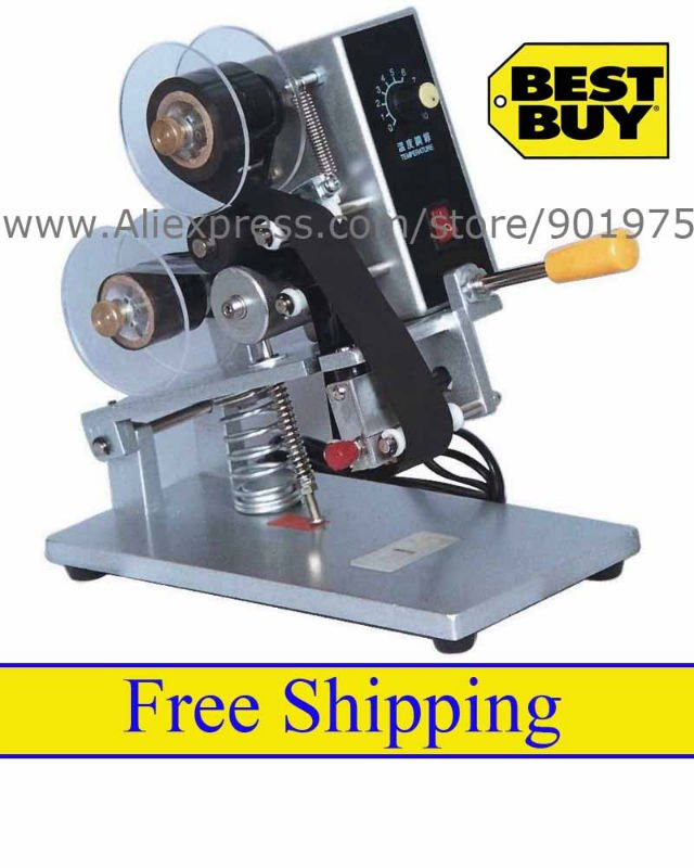 Manual Hot Stamp Printing Machine, Price + Free Delivery - Shenzhou Packing Machine Co., Ltd. store