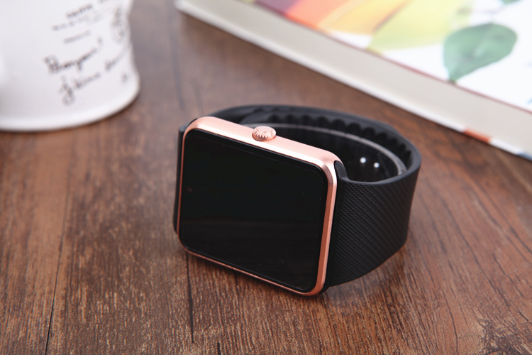 BAGGEE Bluetooth Smart Watch Support SIM TF Card Wristwatch For Android and IOS Phone Camera Pedometer PK DZ09 GT08 Men Or Women