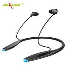 Buy New ZEALOT H7 Bluetooth Earphone Headphones Magnet Attraction Slim Neckband Wireless Headphone Sport Earbuds Mic for $18.93 in AliExpress store