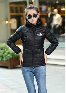 2015 Winter design short down coat female ultra-thin ultra-light down coat velvet feather jacket snow clothes warm coat women(China (Mainland))