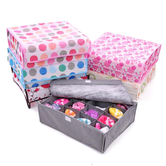 Fashion Covered Classification Of Bra Underwear Storage Box Free Shipping