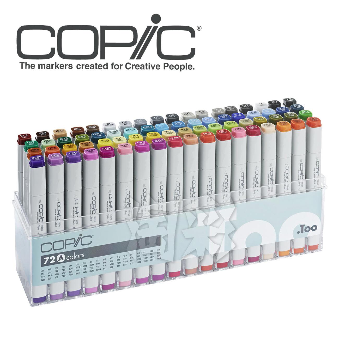 alcohol 72a 72b 72c colors copic markers informs copic. Black Bedroom Furniture Sets. Home Design Ideas