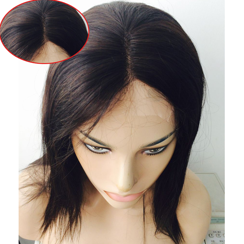 Unprocessed Brazilian Full Lace Human Hair Wigs 12 inch Lace Front Wigs Straight Virgin Hair with Baby Hair for Black Women<br><br>Aliexpress
