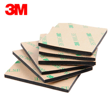 Buy Original 3M 300LSE 9495LE Glue EVA Foam Double Sided Adhesive Tape Pad Mounting Tape 54mmx44mmx3.2mm Black for $3.75 in AliExpress store