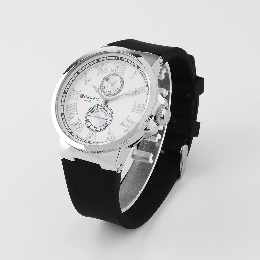 Curren Latest Design luxury fashion men watches mens silicone strap sport quartz wristwatch relogio masculino mens gifts,W8160<br><br>Aliexpress