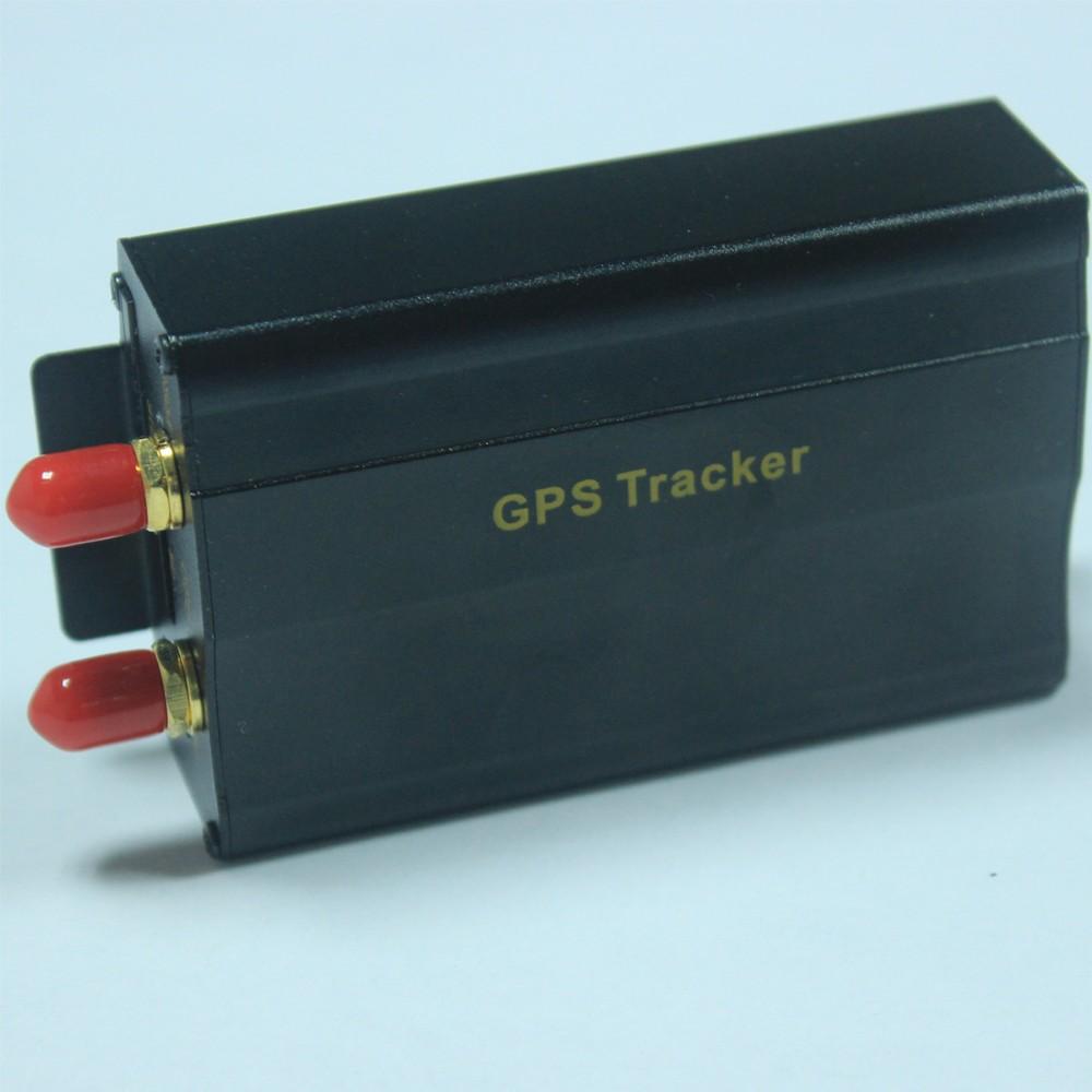 Купить Автомобиль Автомобильный GPS Tracker TK103A в Режиме реального времени отслеживать Google Map Link Бесплатная доставка
