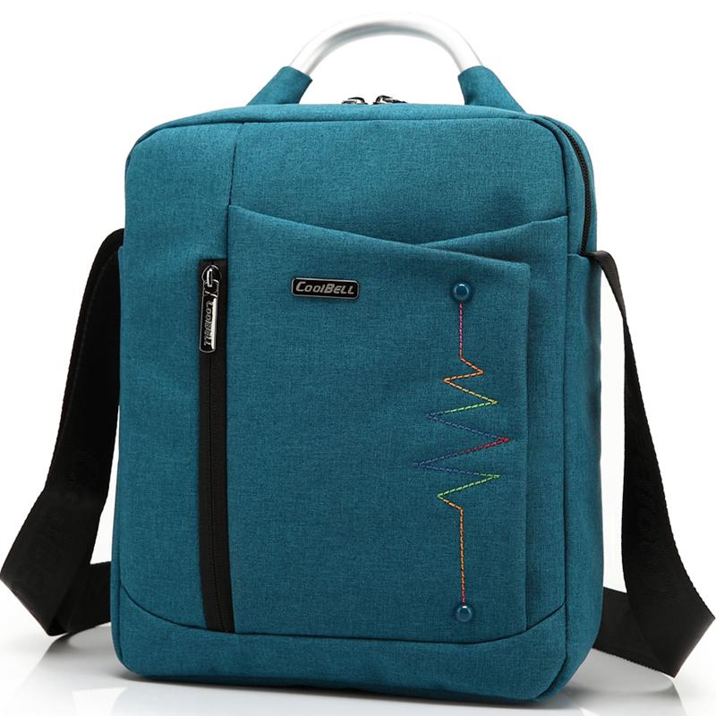 Coolbell Brand Casual Fashion Bag for iPad Air 2 3 iPad Mini iPad 4 Men Women Tablet Bag 8,10.6,12.4 inch Laptop Messenger Bag(China (Mainland))