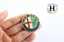 10 50mm Alfa ROMEO Car Wheel Center Hub Cap Badge Emblem Decal Sticker auto accessories - CAR DILAIFEI 6 Store store