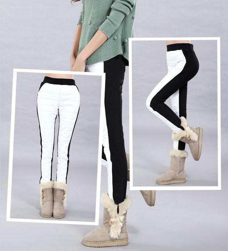 2014 winter slim plus size trousers female velvet thickening warm pants women colorful Velvet boots leggings - Maya Fashion store