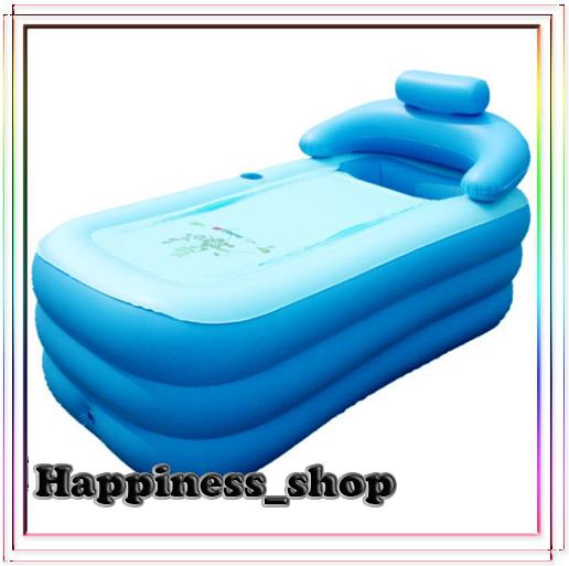Wholesale&Retail Adult Spa folding Portable bathtub inflatable bath tub with cushion + Foot air pump Gift Warm winter(China (Mainland))