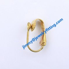 brass lever back earring clip ear wire  clip earring fitting fashion jewelry findings<br><br>Aliexpress