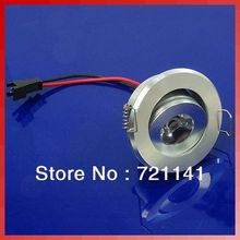 3W Cabinet LED Ceiling Indoor Down Light Fixture Recessed Warm White 85~265V Free shipping(China (Mainland))
