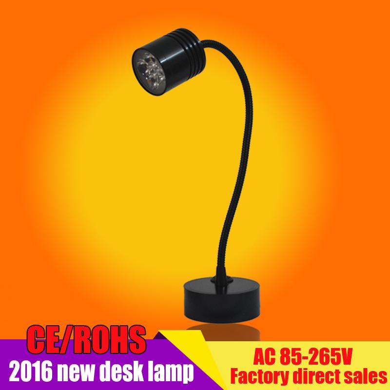 New 4W LED Modern Wall Lamp Flexible arm light lamp Bedside Reading Light Study Painting Wall Lighting Flexible Hose(China (Mainland))