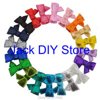 """Free Shipping Wholesale100pcs/lot,20 Colors 1.8"""" Mini Sequin Hairbows WITHOUT CLIP Baby Girl Hair Accessory,Sequin Hair Bow"""
