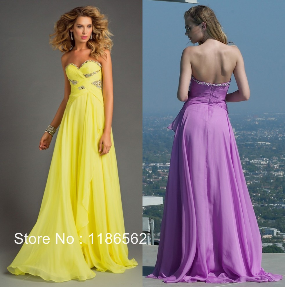 long summer prom dresses