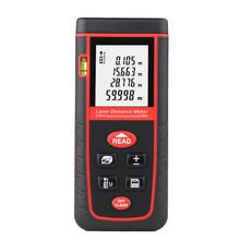 Buy 60M Handheld Digital Laser Distance Meter Range Finder Measure Diastimeter Rangefinder Laser Tape Range Finder Measure Device for $34.87 in AliExpress store