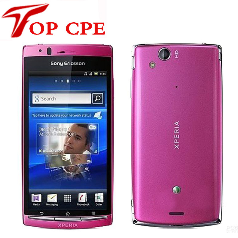 Unlocked LT18I Original Sony Ericsson Xperia Arc S LT18i 3G Android 2.3 WIFI 4.2 TouchScreen 8MP Camera refurbished Cell Phone(China (Mainland))