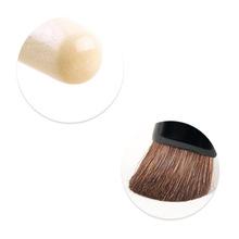 New 2015 high grade elegant Bleached wood Eye shadow brush cosmetics horse hair makeup brushes BP029