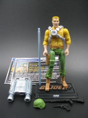 G.I.Joe Special Forces 3.75 inches 50th Anniversary Duke, Commander, Cobra Blues(China (Mainland))