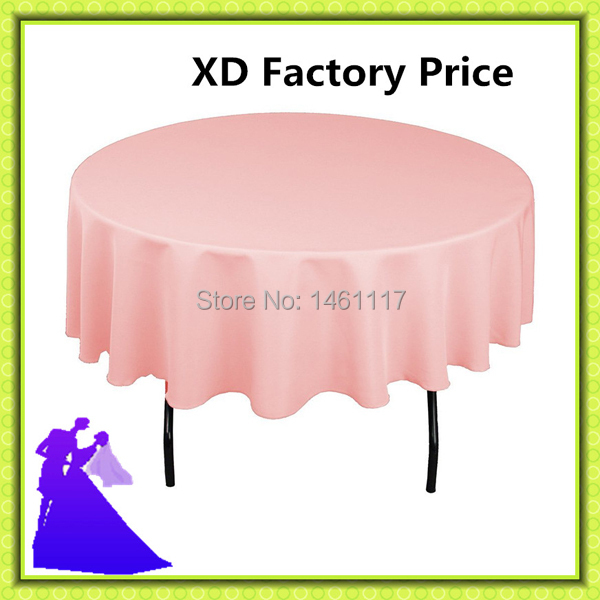 "20pcs90 "" 100%polyester various colors table cloth for sale washable and reasonable(China (Mainland))"