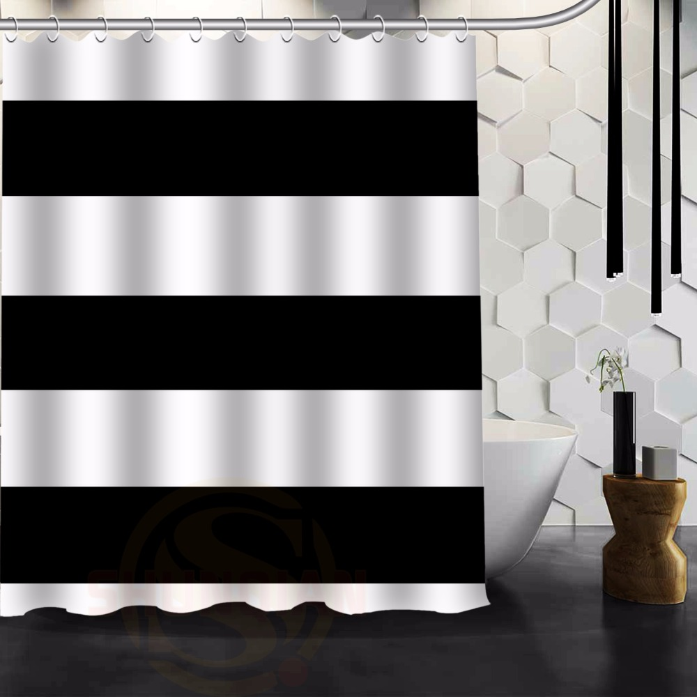 Online Buy Wholesale Horizontal Stripe Shower Curtain From China Horizontal Stripe Shower