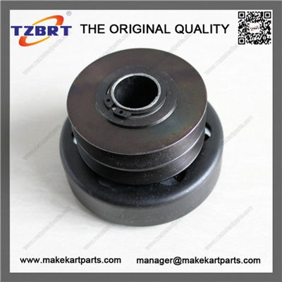 "Two Belt Centrifugal Clutch Pulley 1"" Bore magnetic pulley for belt conveyor v groove pulley(China (Mainland))"