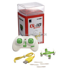 Cheerson CX-10 CX10 RC Quadcopter 4-CH 2.4GHz 6-Axis Gyro  Mini Drone Helicopter(China (Mainland))