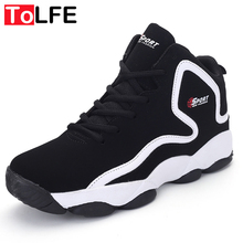 2016 New Man Basketball Shoes Cushioning Sneakers for Women Hight Damping Basketball Shoes Adults Ankle Boot Black White Red(China (Mainland))