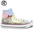 Womens Shoes Mens Shoes My Neighbor Totoro Miyazaki Hayao Hand Painted Art Christmas Gifts Birthday Gifts