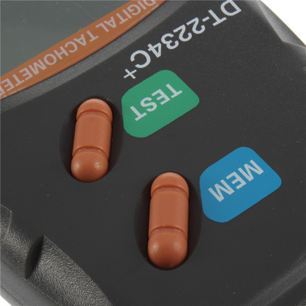 1set Digital Laser Tachometer RPM Meter Non Contact Motor Speed Gauge Revolution Spin Newest