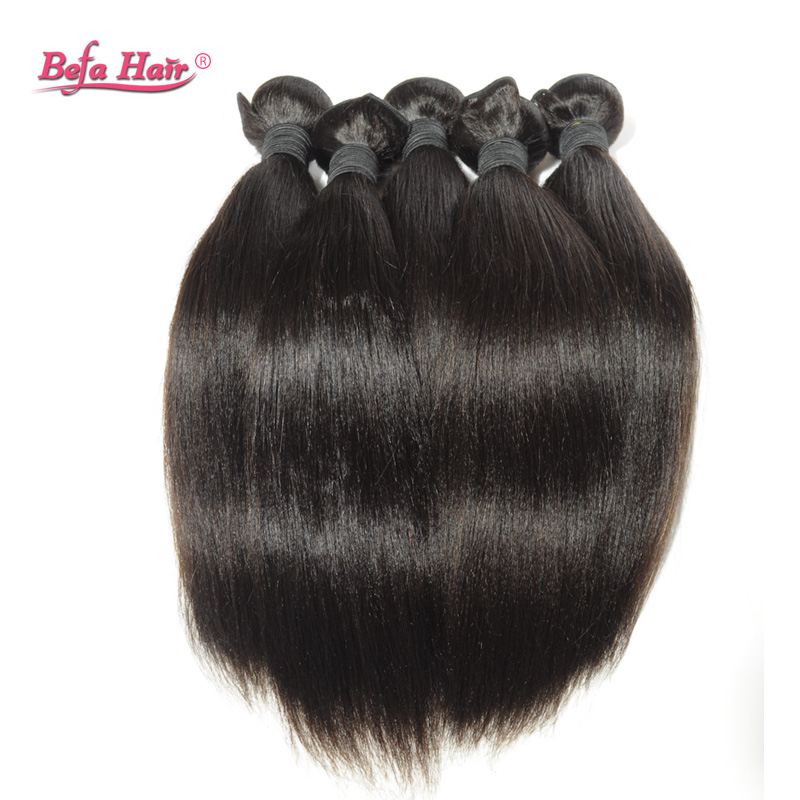 New arrival Malaysian hair yaki straight 5pcs Grade 6A unprocess free shipping queen hair extensions free tangle can ombre<br>