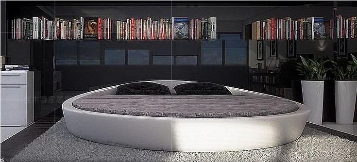 lit rond italie. Black Bedroom Furniture Sets. Home Design Ideas