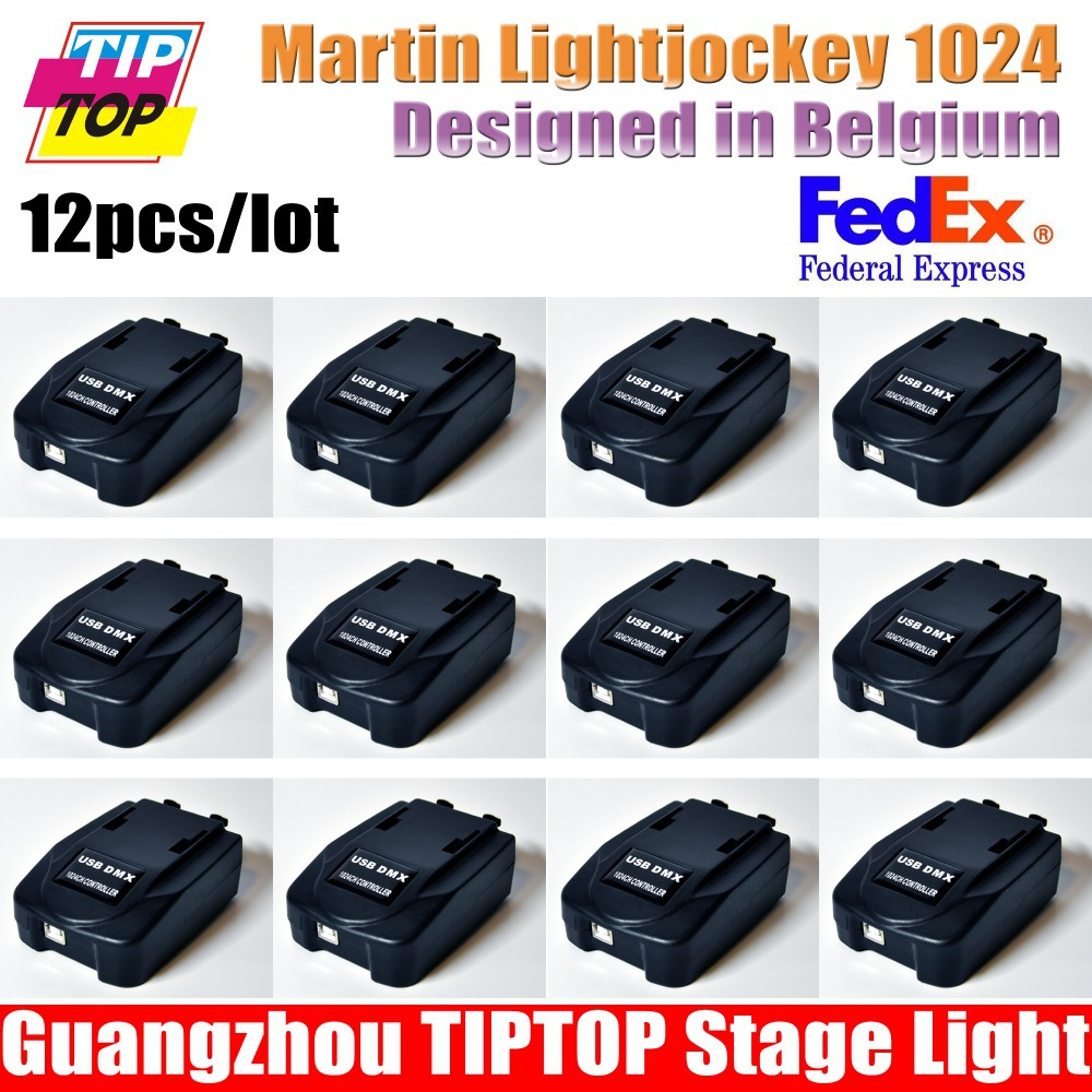 12XLOT Martin Professional Windows-based LightJockey Lighting Controller USB to DMX Interface martin light jockey usb 1024 CH(China (Mainland))