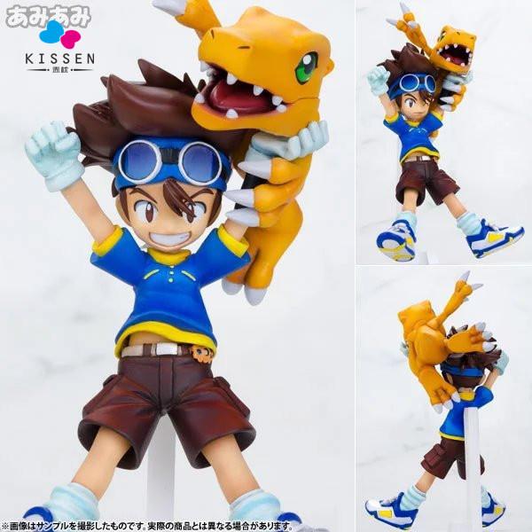 Kissen Digimon Action Figures Yagami Taichi Agumon PVC Figures Digital Monster Model Toys Digimon Adventure Game Digimons Doll(China (Mainland))