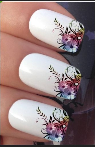 2015 Direct Selling Limited Nail Sticker Tools Manicure Water Transfer Printing Watermark Stickers Vine Flowers - Fang Decorative Accessories Stores store