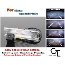 For Nissan Fuga 2009~2014 Intelligent Car Parking Camera with Backing Trajectory / Car Parking Camera / Rear View Camera(China (Mainland))